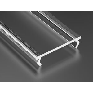 LEDLabs Transparentní difuzor DOUBLE pro profily LUMINES 1m